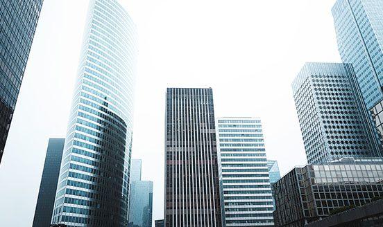 Office buildings in CBD