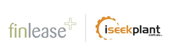 Finlease iSeekplant logos